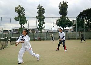 日本弁理士協同組合テニス大会 報告 (2015.4.11開催)